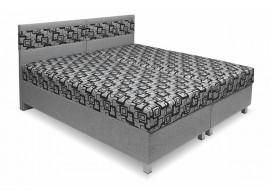 Čalouněná postel s úložným prostorem Agáta