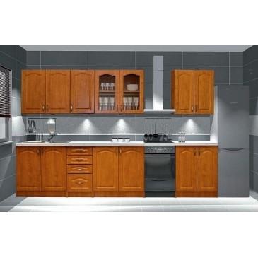 Kuchyňská linka PREMIUM, olše, 260 cm