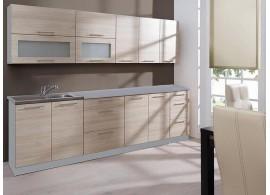Moderní kuchyňská linka GOBI, dub sonoma, 260 cm