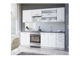 Kuchyňská linka Fabiana, bílá, 180 cm