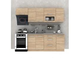 Kuchyňská linka Nova Plus, dub sonoma, 240 cm