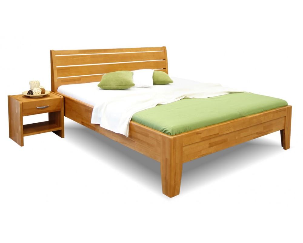 f186f00fd22a Zvýšená postel z masivu CATARINA 1
