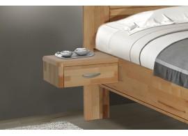 Noční stolek závěsný ZV 1, masiv buk