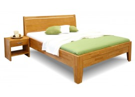 Zvýšená postel z masivu CATARINA 2, masiv buk