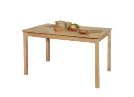Dřevěný jídelní IA7848, masiv borovice, 118x75 cm