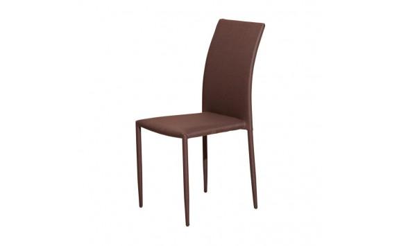 Jídelní židle do kuchyně IA3056, hnědá
