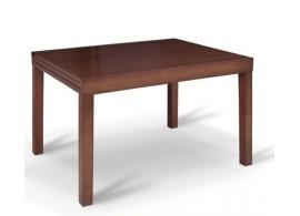 Rozkládací jídelní stůl Faro, masiv/MDF, 120x90 cm, ořech