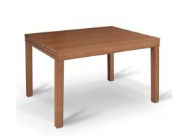 Rozkládací jídelní stůl Faro, masiv/MDF, 120x90 cm, třešeň
