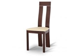 Jídelní židle Desi, masiv, ořech