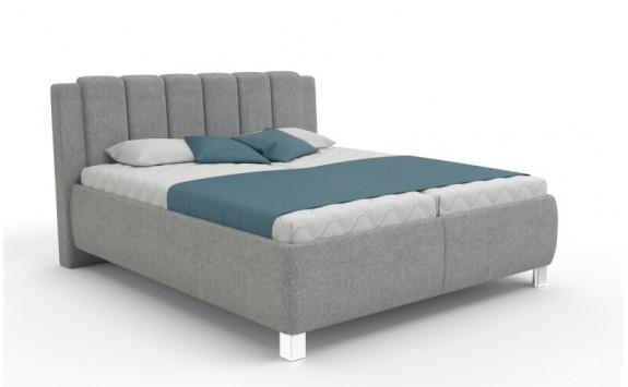 Čalouněná postel s úložným prostorem Carpi vario, čelní výklop