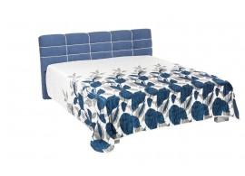 Zvýšená čalouněná postel s úložným prostorem Lena de Luxe