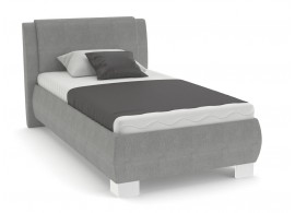 Čalouněná postel s úložným prostorem Kartago vario, čelní výklop, 110x200 cm