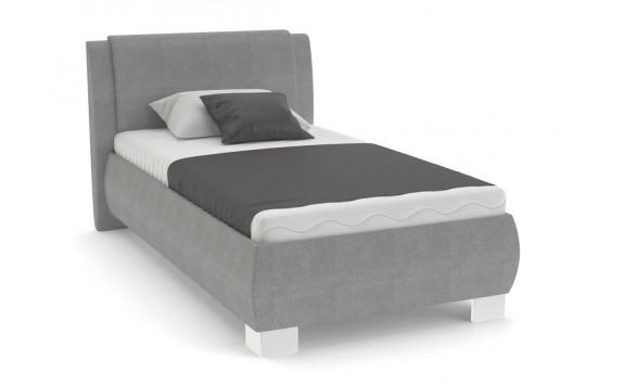 Čalouněná postel s úložným prostorem Kartago vario, čelní výklop, 90x200 cm