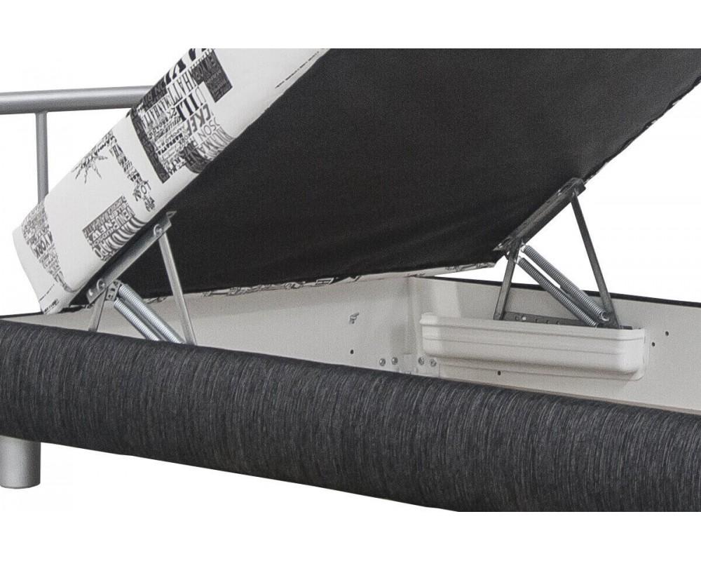 79e4892f6e5f ... Čalouněná postel s úložným prostorem Adriana
