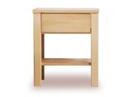 Noční stolek - VALENCIA senior č.202/B masivní buk