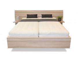 Manželská postel s nočními stolky Salmia, 160x200, 180x200