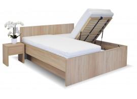 Manželská postel s úložným prostorem Tropea, 160x200, 180x200