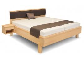 Manželská postel Gala, masiv buk, 180x200