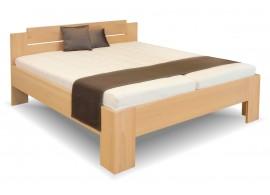 Manželská postel Grand, masiv buk, 180x200