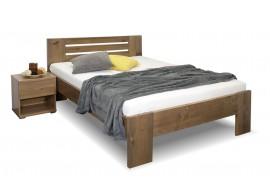 Zvýšená postel z masivu ROSA, masiv smrk, 140x200