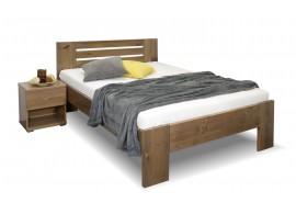 Zvýšená postel z masivu ROSA, masiv smrk, 120x200