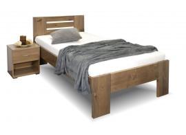 Zvýšená postel z masivu ROSA, masiv smrk, 90x200