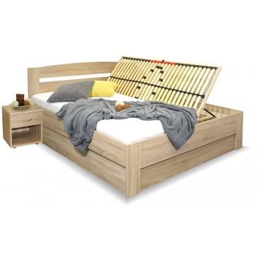Manželská postel s úložným prostorem Maria, 160x200, 180x200