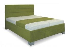 Zvýšená čalouněná postel s úložným prostorem Diana
