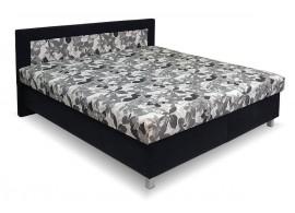 Čalouněná postel s úložným prostorem Alena