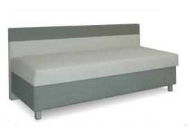 Čalouněná postel s úložným prostorem Adam