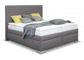 Americká postel boxspring s úložným prostorem RIALTO
