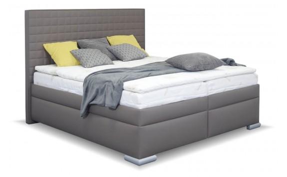 Americká postel boxspring RIALTO, s úložným prostorem