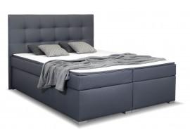 Americká postel boxspring s matrací a topperem MORANDI, 180x200