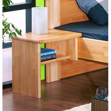 Noční stolek STANDA L - masiv buk