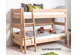 Dětská poschoďová postel Sendy 300B/01B, masiv buk cink
