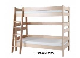 Dětská poschoďová postel Sendy 300B/05B, masiv buk