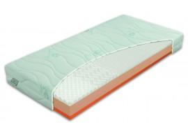 Zdravotní matrace BROOKLYN Hard, líná pěna, 180x200