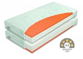 Zdravotní matrace BROOKLYN Soft 1+1 Zdarma, líná pěna