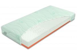 Zdravotní matrace BROOKLYN Soft, líná pěna, 160x200