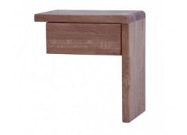 Noční stolek závěsný F322/P/BC - masiv buk