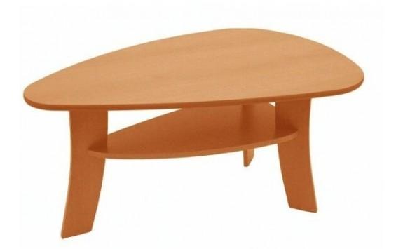 Konferenční stolek oválný 110x70 - KR08, lamino