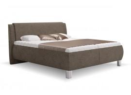 Čalouněná postel s úložným prostorem Inna vario, čelní výklop