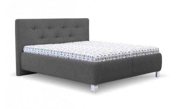 Čalouněná postel s úložným prostorem Elza vario, čelní výklop