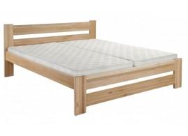 Dřevěná postel dvoulůžko Hanka New, masiv buk