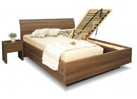 Manželská postel s úložným prostorem Salmia,180x200 VÝPRODEJ Z EXPOZICE