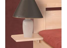 Závěsný noční stolek ERIN, masiv buk