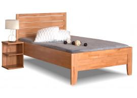 Zvýšená postel z masivu Erin 1, 90x200cm, masiv buk