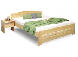 Dřevěná postel jednolůžko LADA, 120x200, masiv borovice
