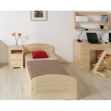 Dětská patrová postel s úložným prostorem JAKUB