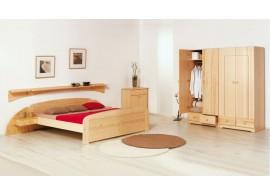 Dětská patrová postel se zábranou a úložným prostorem VIKTOR